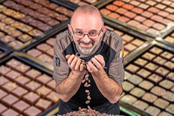 Le chocolatier - André Gazengel - Gien Photo