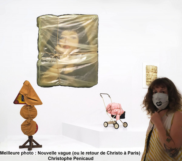 Nouvelle vague (ou le retour de Christo à Paris) - Christophe Penicaud  Chartres Objectif