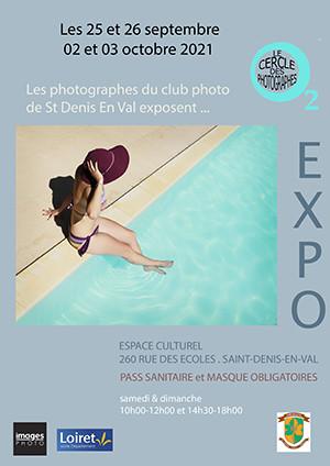 """Exposition O2 """"Le Cercle des Photographes"""" à St Denis en Val"""